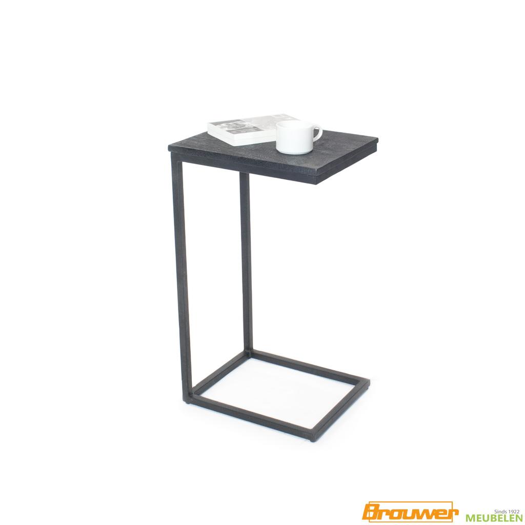 laptoptafel tafel voor over de bank zwart mango