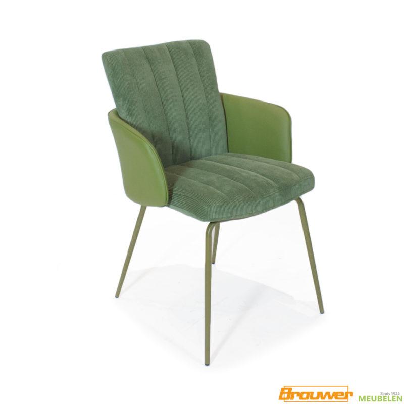 retro stoel jaren 60 2 kleuren eetkamerstoel armstoel retro